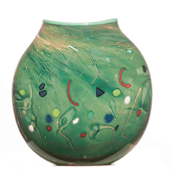Vic Leo Glass Art Work